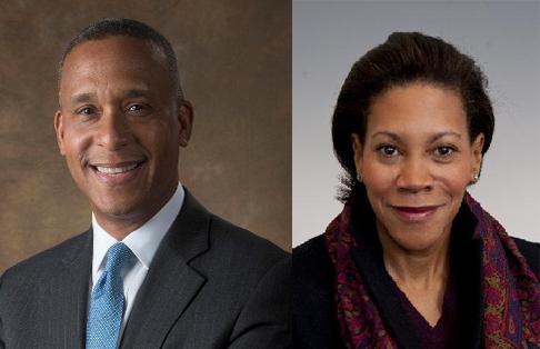 Dr. Wayne Wiley and Ms. Karen Watson