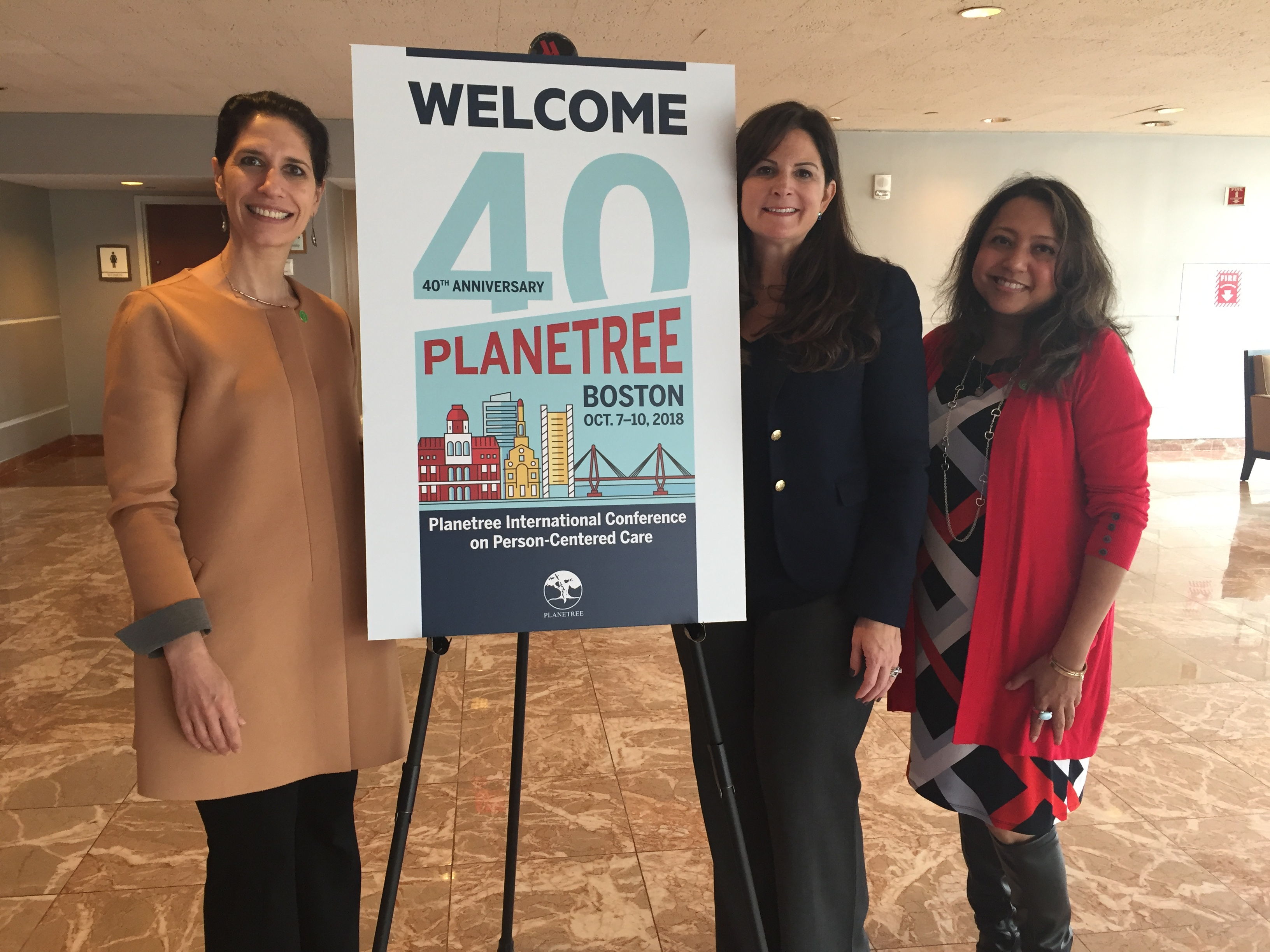 Gold sparkles at the 2018 Planetree conference