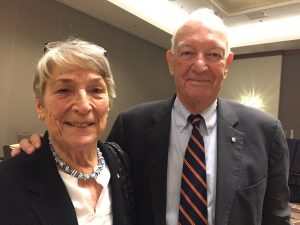 Dr. Sylvia Cruess and Dr. Dick Cruess, joint recipients of the 2018 Abraham Flexner Award for Distinguished Service to Medical Education