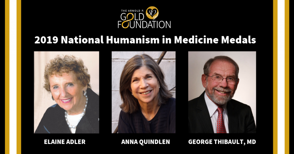 Gold Foundation 2019 National Humanism in Medicine Medals