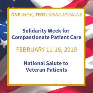 Gold Humanism Honor Society It Turns Out That The Gold Humanism Honor Societys Annual Solidarity Week  For Compassionate Patient Care Is Also The National Salute To Veteran  Patients At