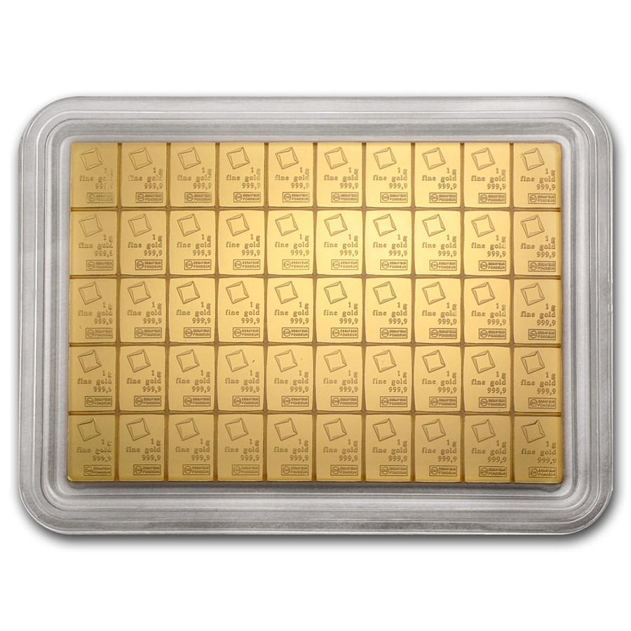 Gold Valcambi Combibar