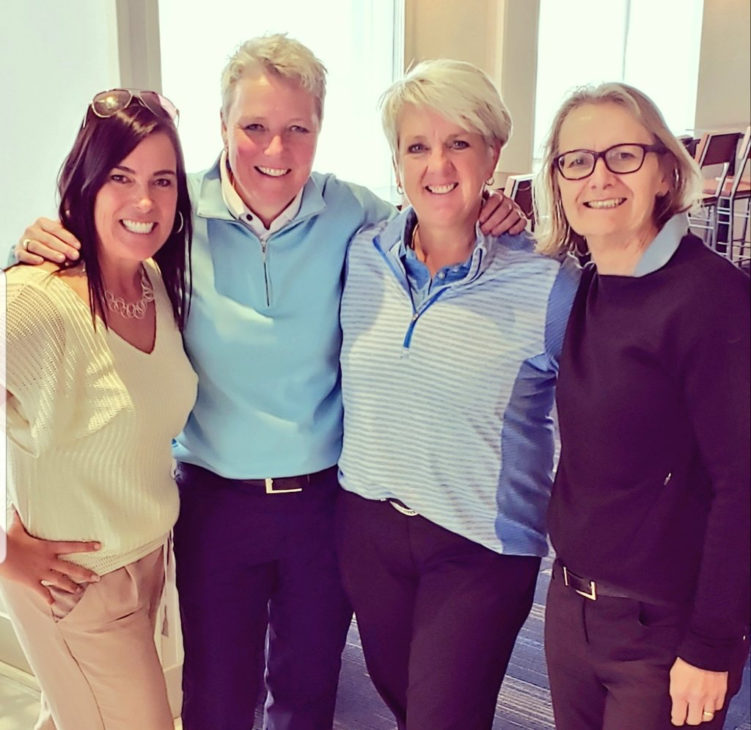 Lisa Vlooswyk, Tiffany Gordon, Kim Carrington and Judy Forshner. Photo courtesy of Lisa Vlooswyk.