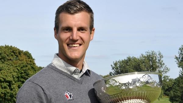 Amateur canadian golf man share
