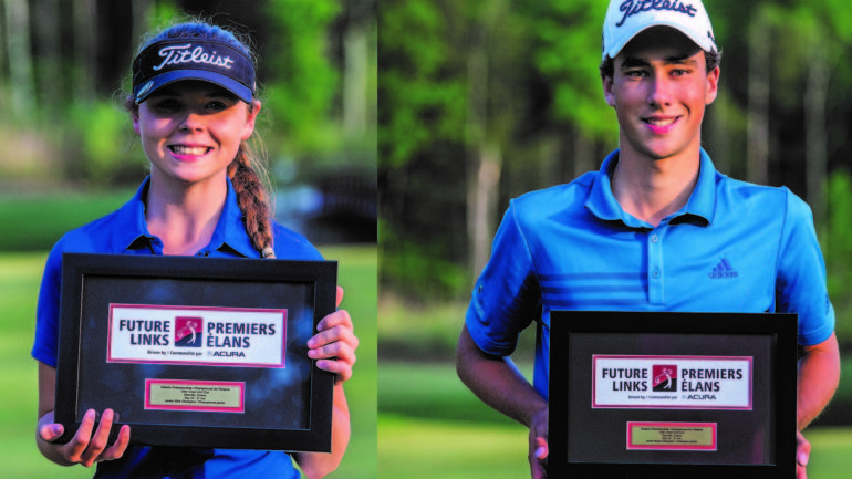 future links medallist honours ceremony taylor and laurent