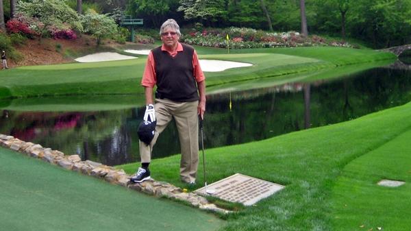 Denis Messier, un invité spécial à son 20e Masters - Golf Canada