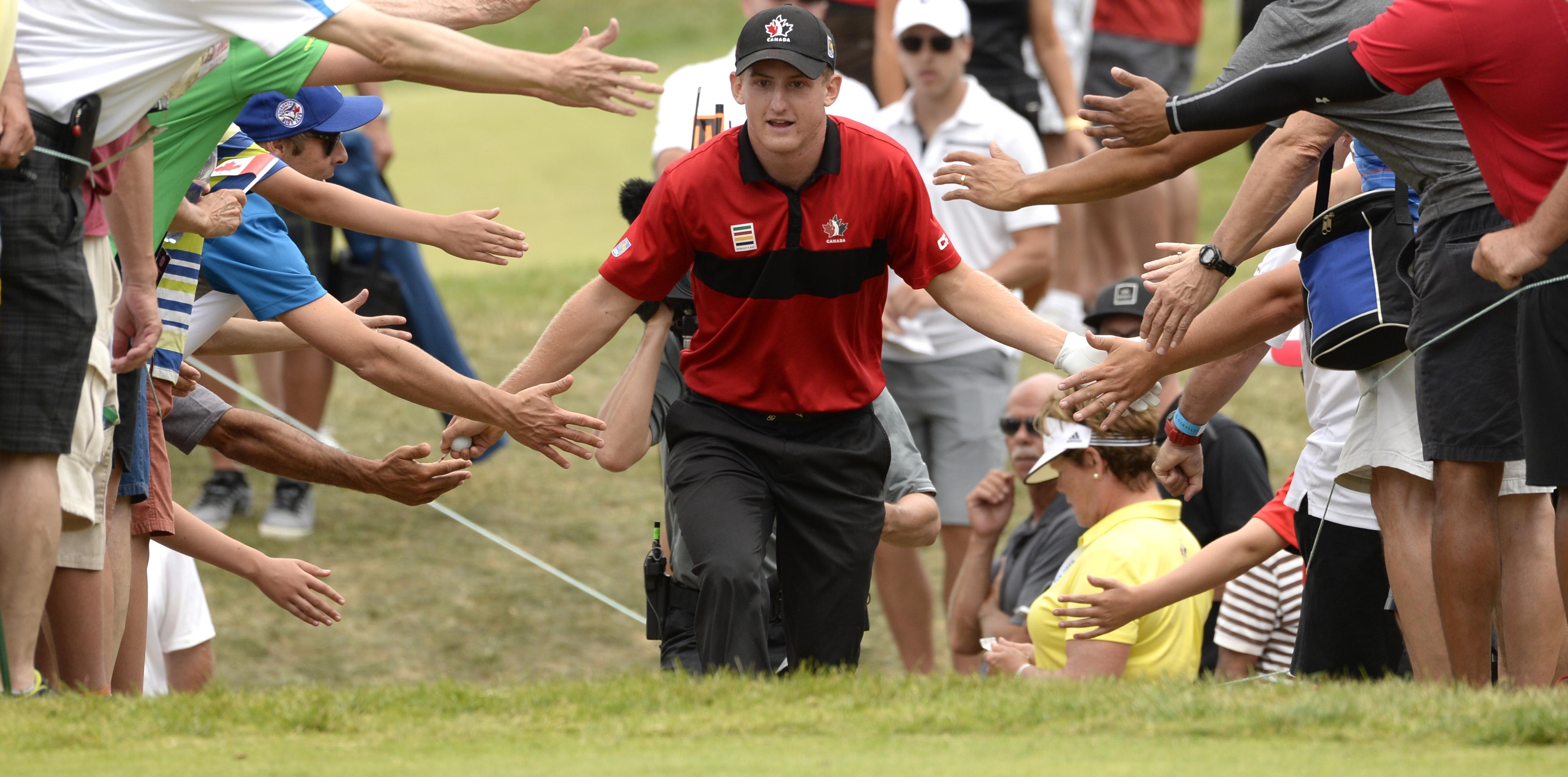 Du Toit Comes Up Short At Rbc Canadian Open But Wins Fans Golf Canada