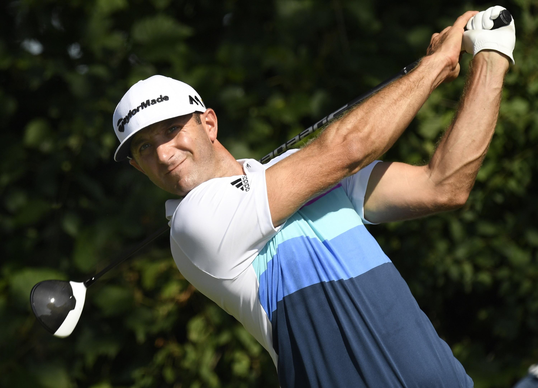 dustin johnson golf player