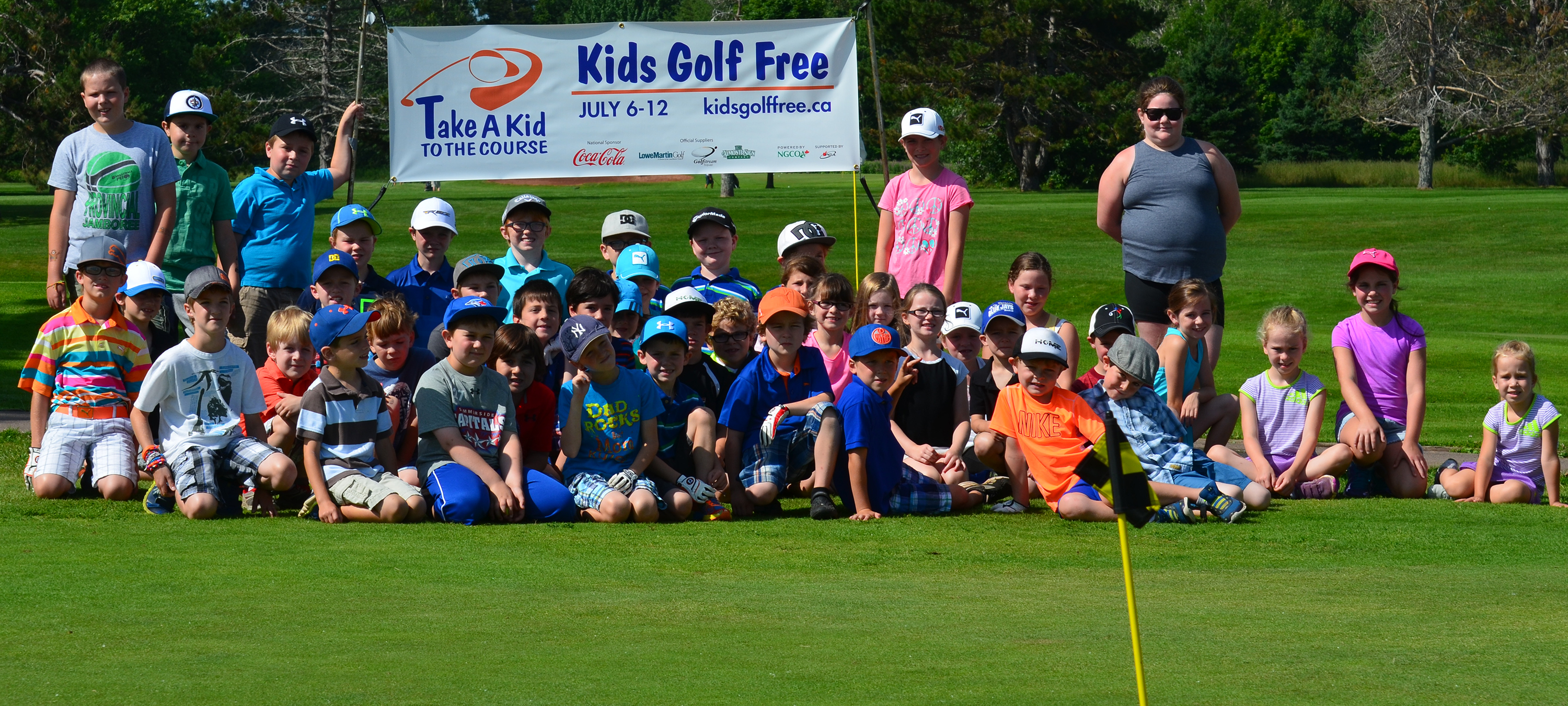 Leveling Playing Field For Our Kids >> Share Golf With The Take A Kid To The Course Program Golf Canada