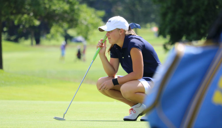 Jennifer Kupcho Grabs Early Lead At Canadian Women S