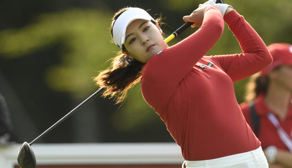 in gee chun takes lead at cp women u0026 39 s open with american