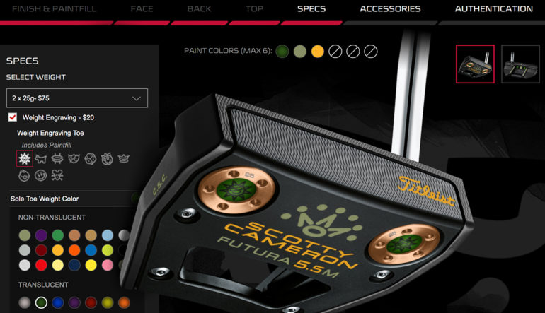 Scotty Cameron introduces new online custom shop – Alberta Golf