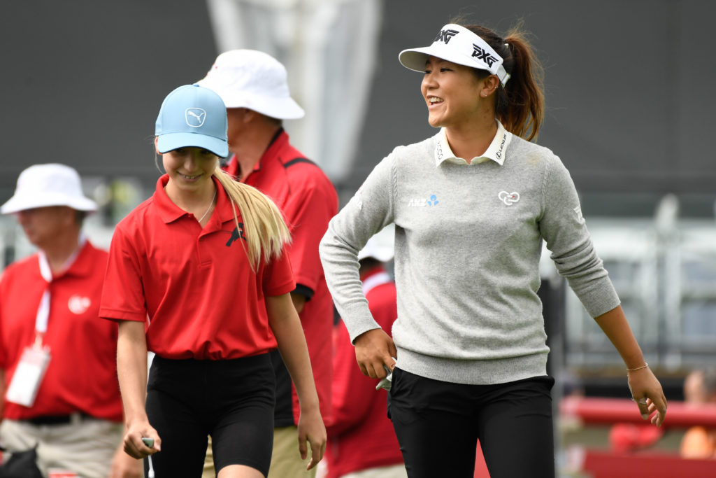 Lydia Ko at CP Women's Open