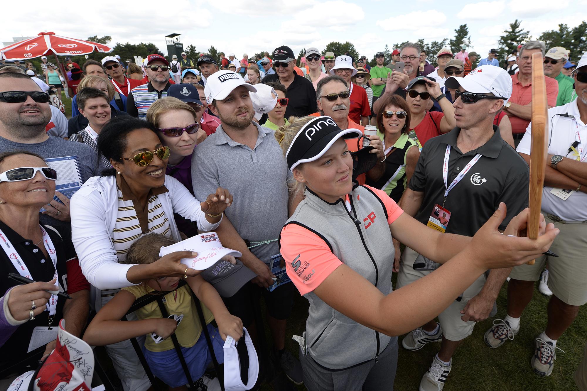 Brooke Henderson: Building a Legacy – Golf Saskatchewan