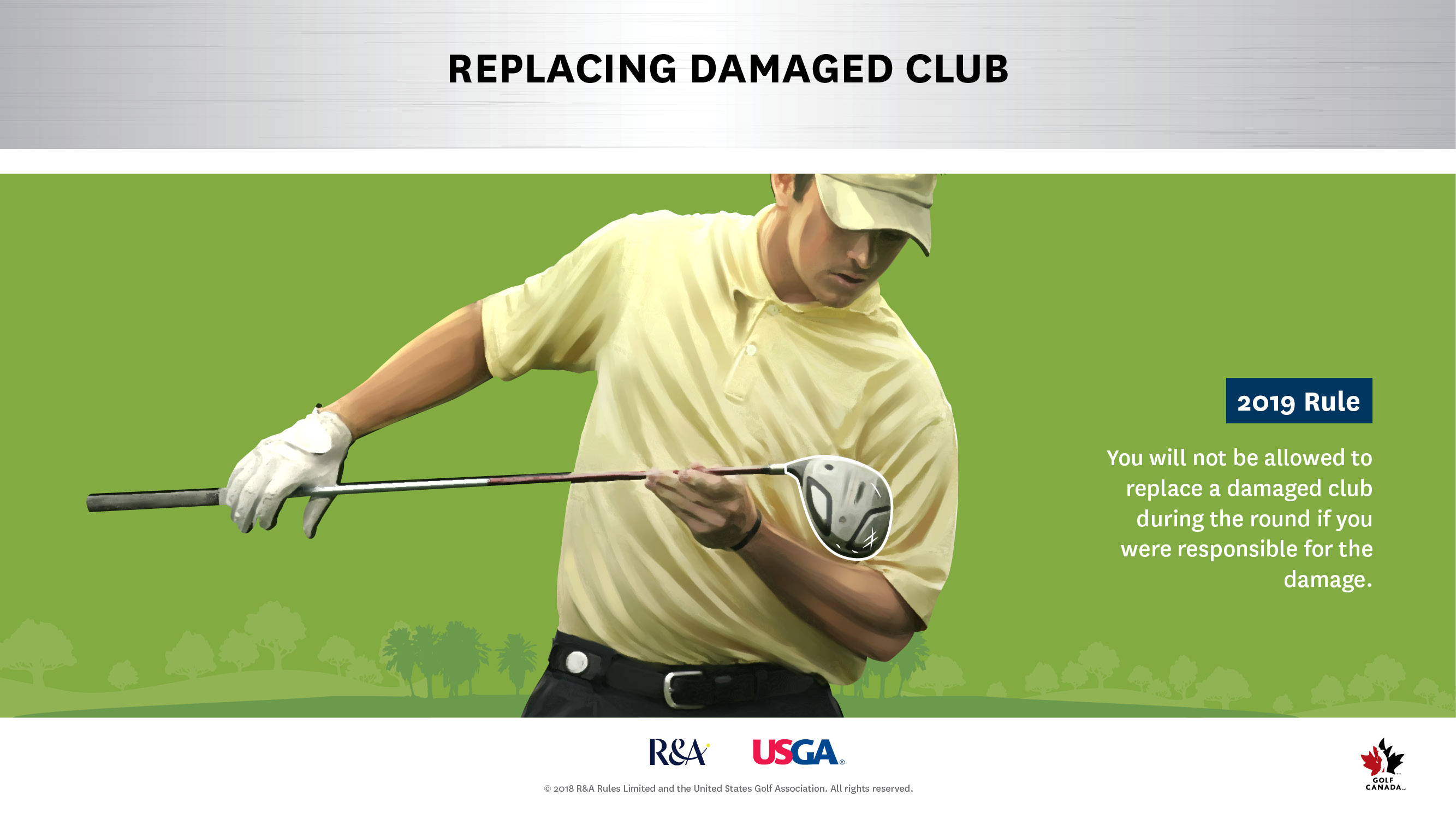 Replacing Damaged Clubs