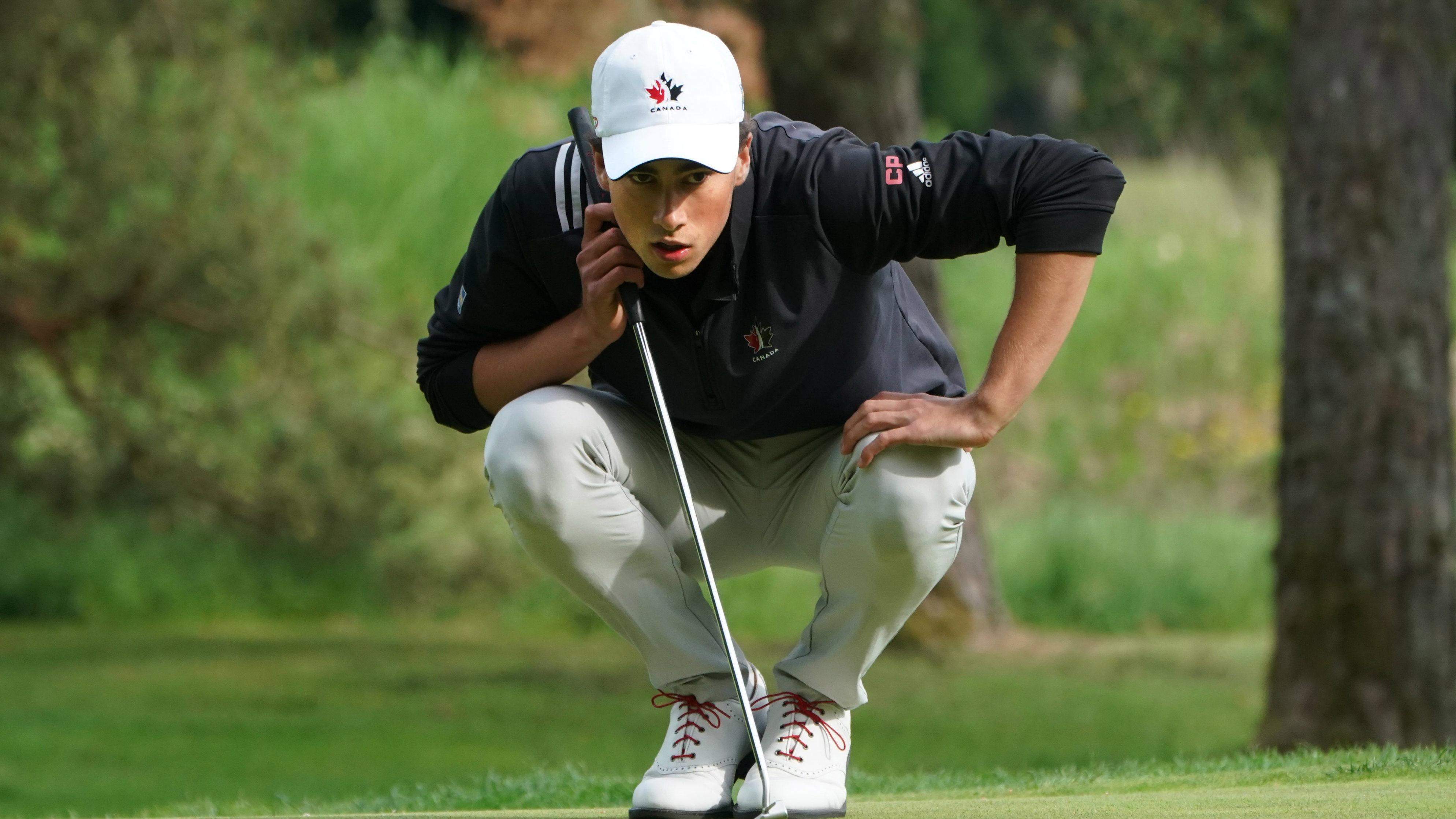 Laurent Desmarchais bat les PROS et gagne à Toronto au Championnat Canada  Vie de Golf Canada – Association Régionale des Cantons de l'Est