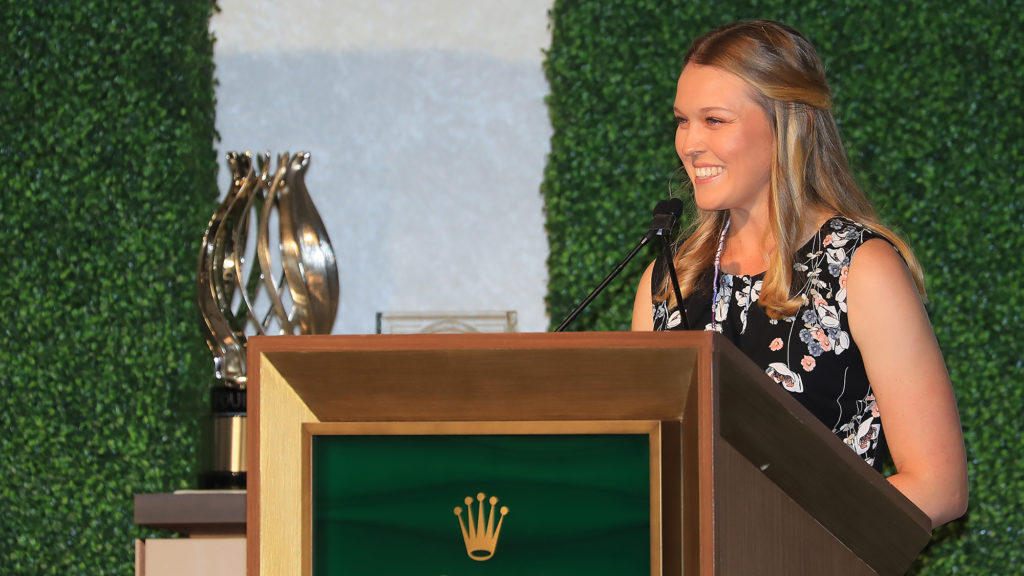 Brooke Henderson wins Founders Award