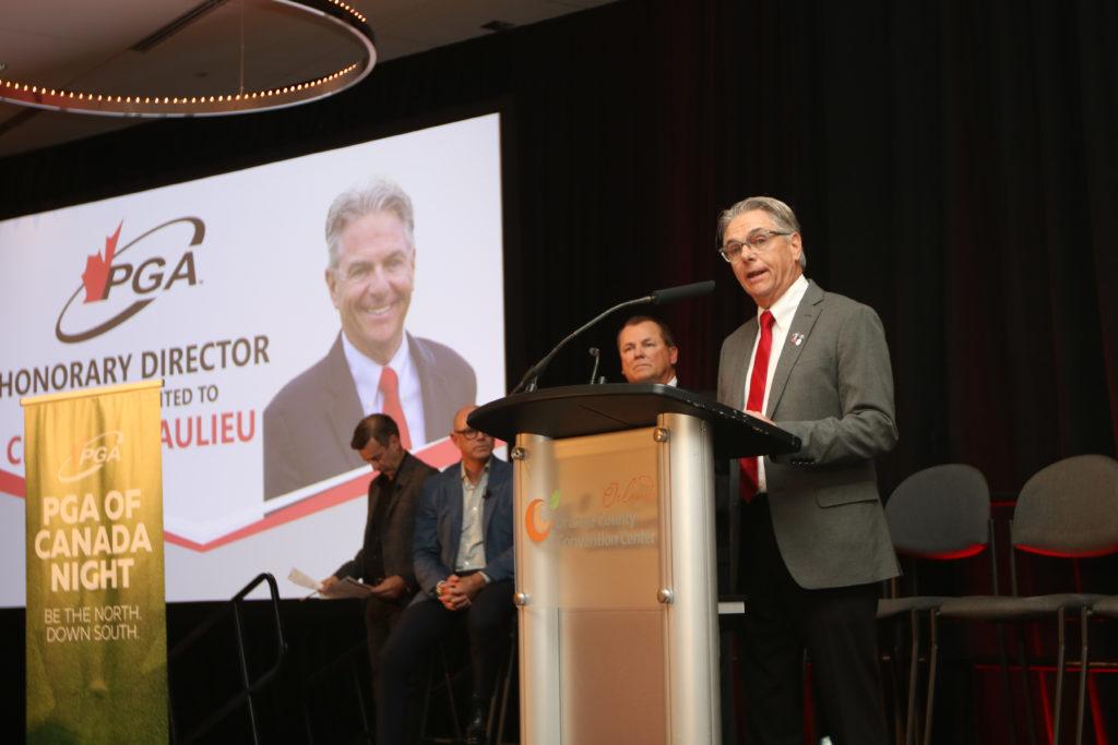 Charlie Beaulieu - Golf Canada president
