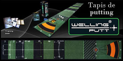 Tapis de putting Welling-putt