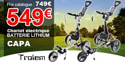499€ le chariot électrique