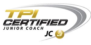 TPI certified junior coach