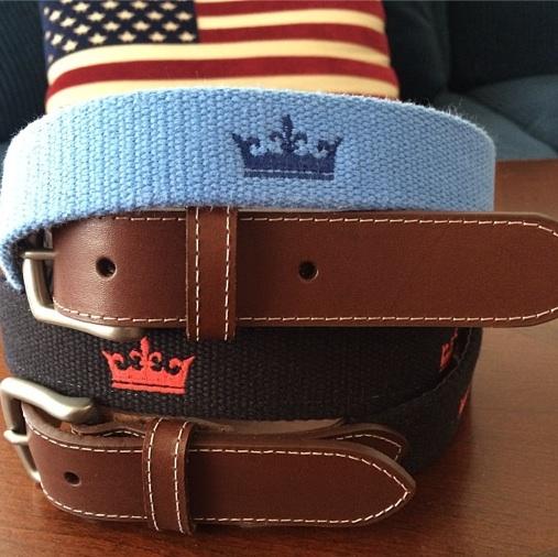 The Final Frontier In Logo Belts   Golf Tripper™