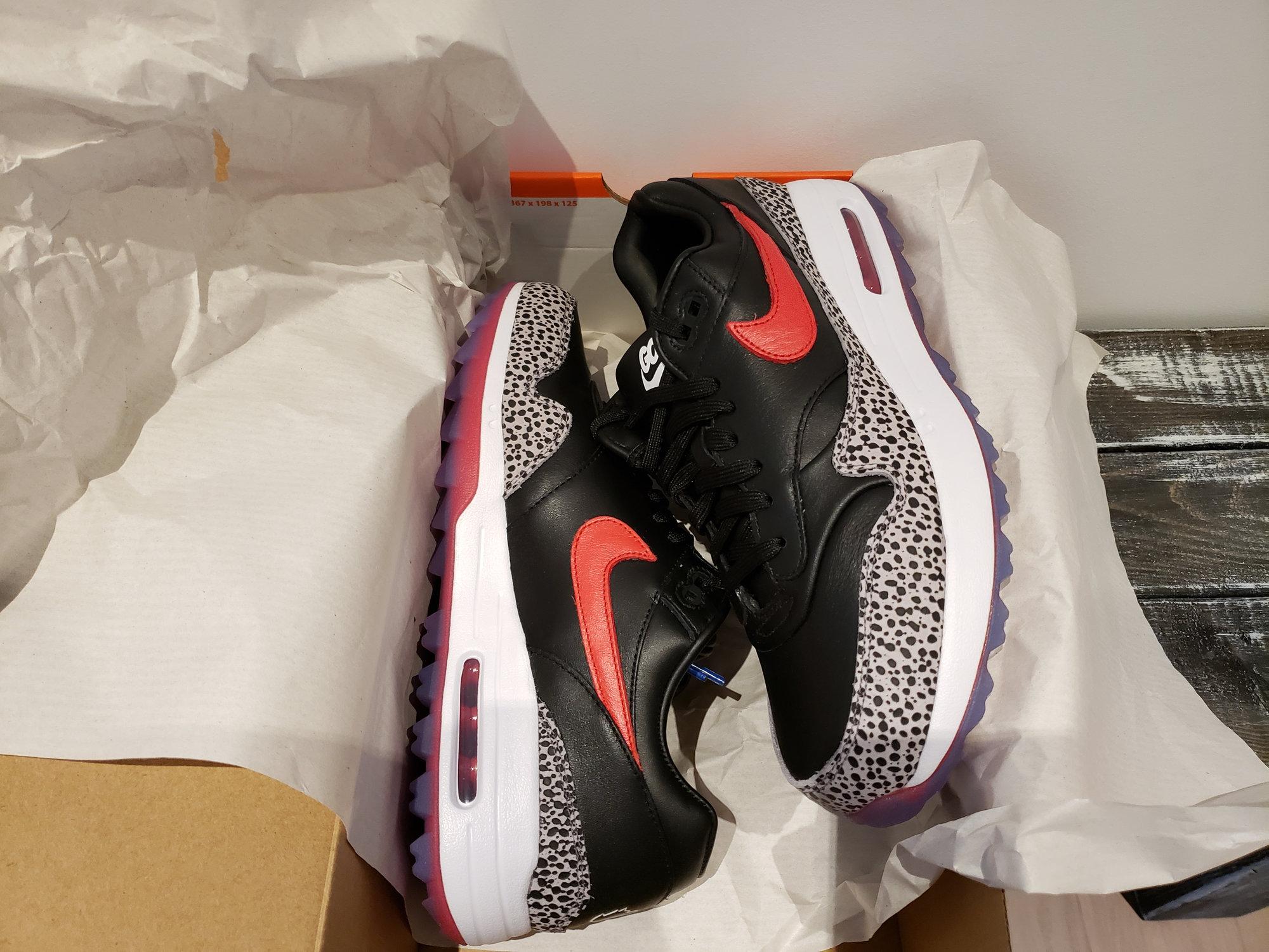Nike Air Max 1g Safari Bred pack size 9