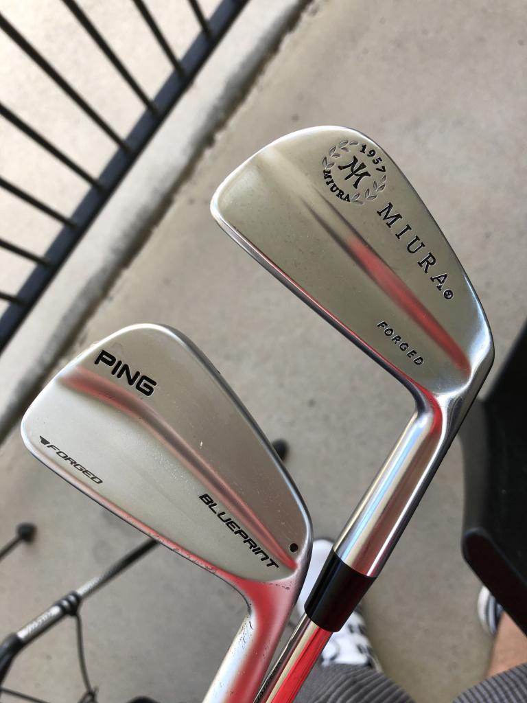 Miura Baby Blades Vs Ping Blueprint Vs Tm P730 Equipment Golfwrx