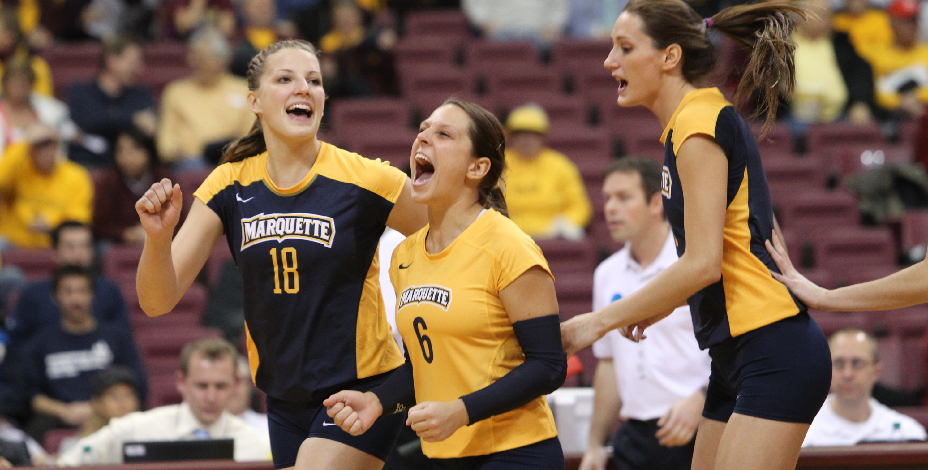 Libero Julie Jeziorowski will lead the Golden Eagles against a program from her home state of Illinois.