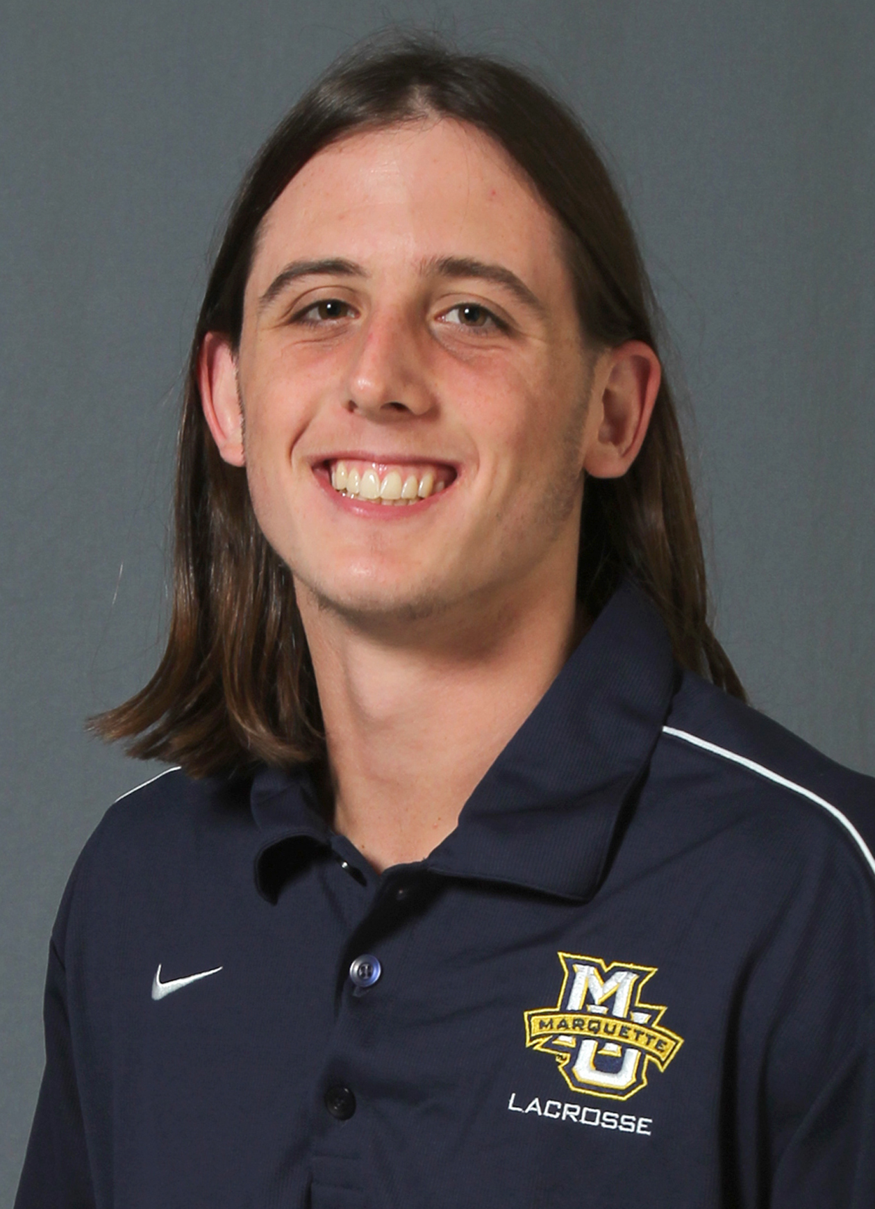 Freshman defenseman Liam Byrnes recorded eight of Marquette's 25 groundballs Tuesday against Notre Dame.
