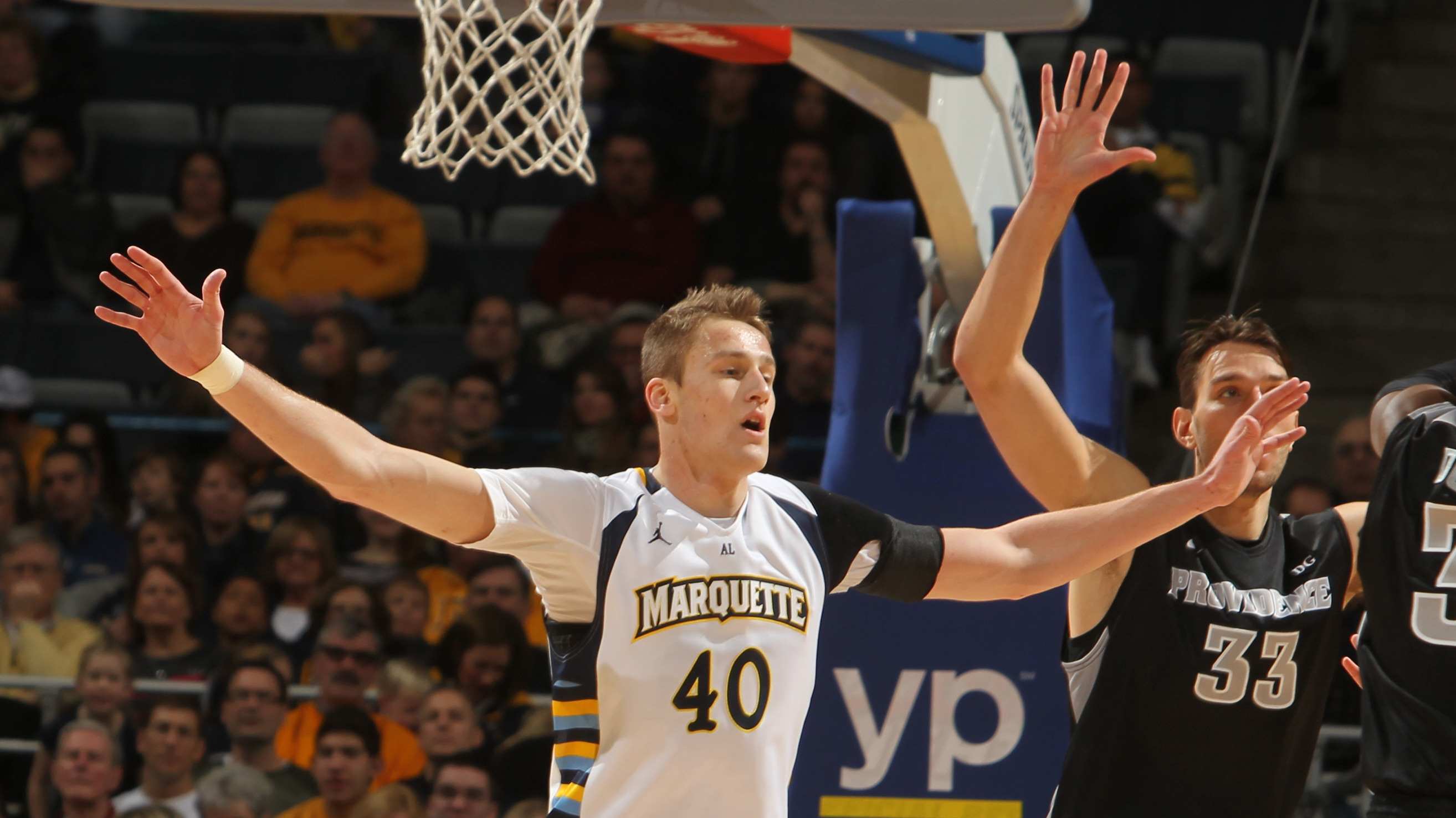 Luke Fischer was a perfect 6-of-6 from the floor and is 40-for-49 (.816) on the season.