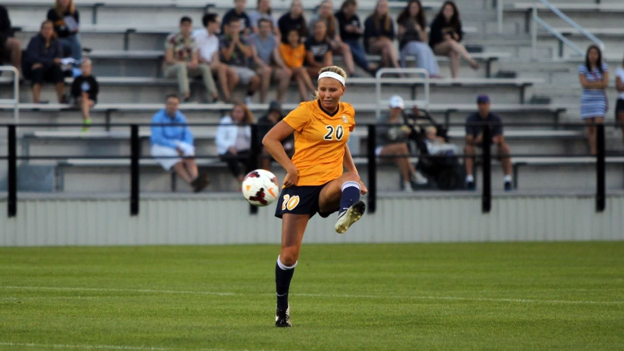 Erin Holland earned the first BIG EAST honors of her career on Monday.