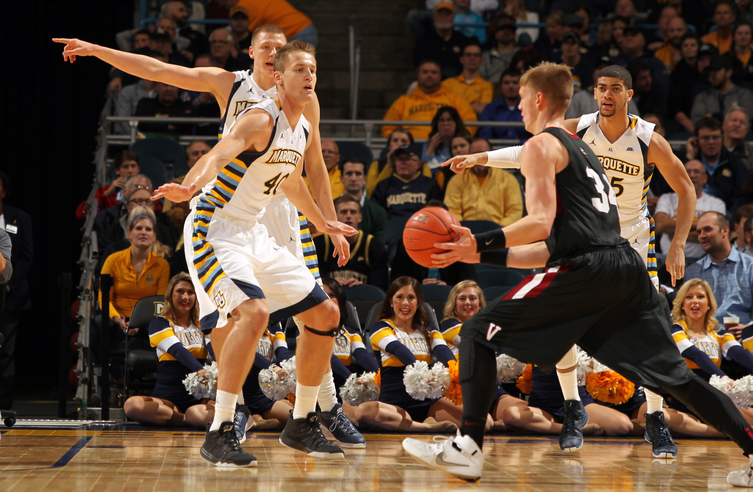 Luke Fischer had his second career double-double with 17 points and 10 rebounds.