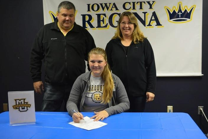 Ashley Gaffey is one of 14 Marquette incoming women's track and field recruits.