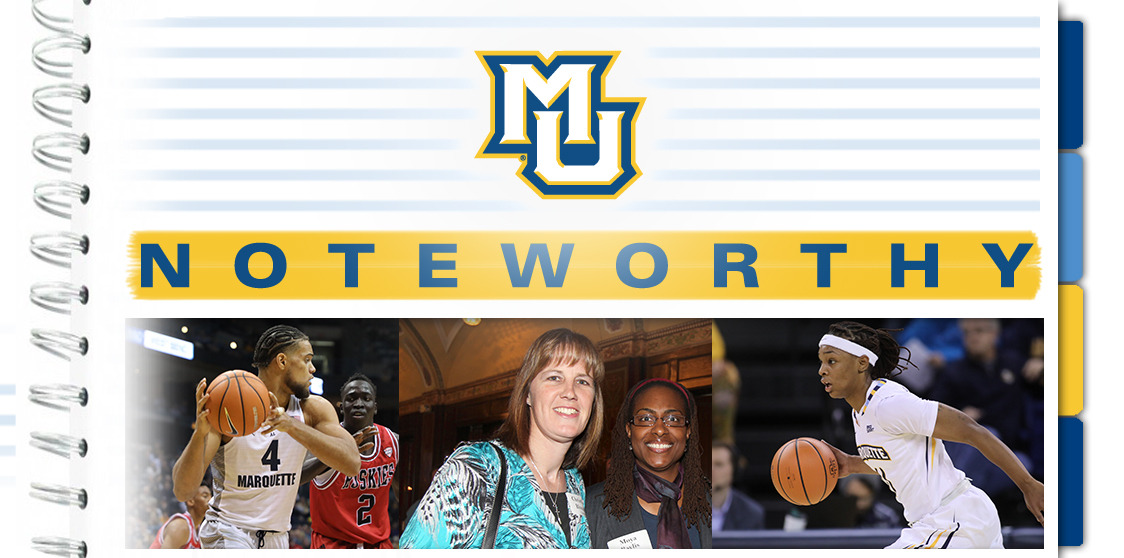 Christine Blonski will be honored as the Hy Popuch Award winner on Dec. 27 as Marquette kicks off BIG EAST action.