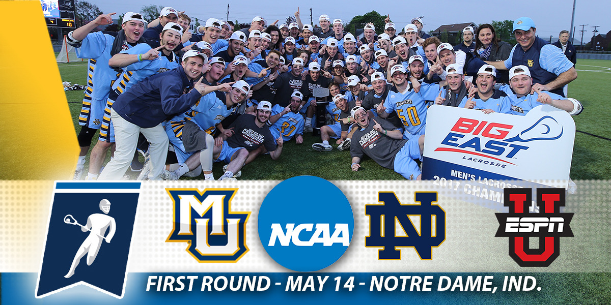 Marquette earned the BIG EAST's automatic bid to the NCAA Championship for the second year in a row.