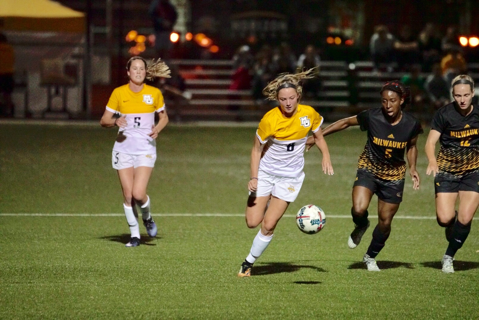 The Golden Eagles and Panthers met for the 26th time on Sunday night at Engelmann Stadium (photo: Russ Handwork).