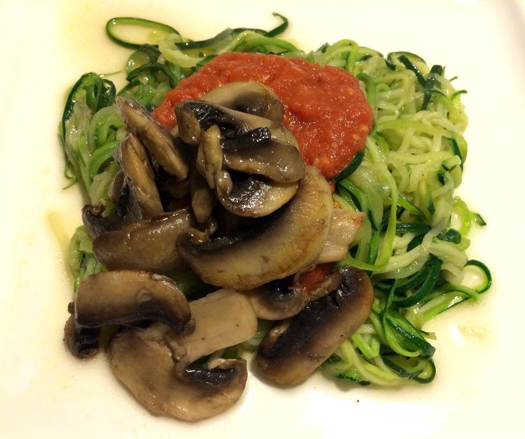 vegan zucchini pasta