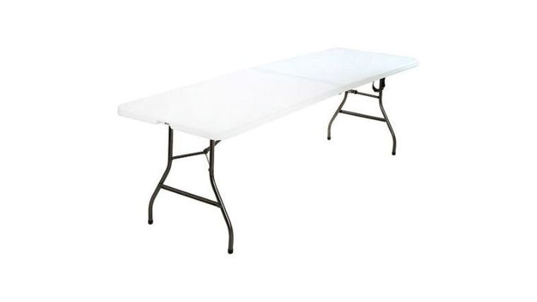Incredible 2 6Ft Folding Tables And 14 Folding Chairs Picnic Package Spiritservingveterans Wood Chair Design Ideas Spiritservingveteransorg
