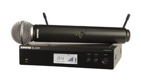 Image of a Wireless Mic Kit - Shure BLX4R/SM58