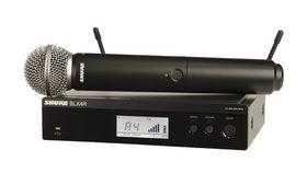 Image of a Wireless Mic Kit - Shure BLX4R/SM58