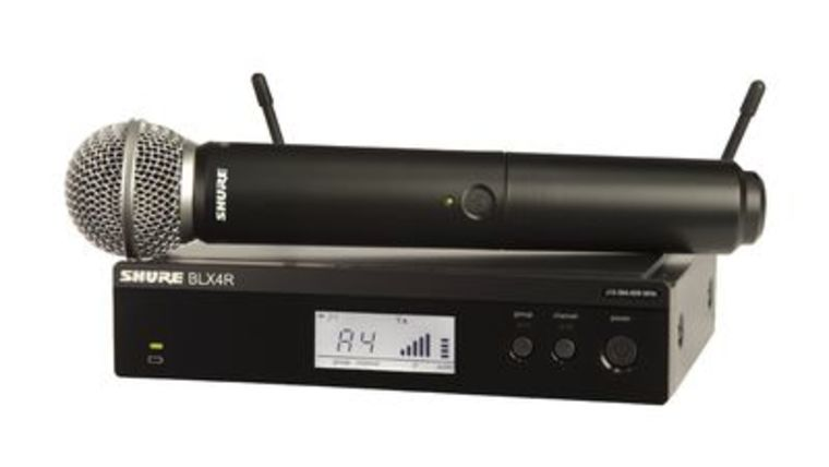Picture of a Wireless Mic Kit - Shure BLX4R/SM58