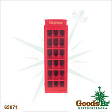 _ADEGA MADEIRA 18G CABINE TELEFONICA OLDWAY 96x36x30cm