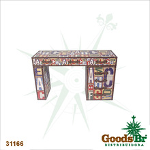 _MESA ESCRITORIO ABC DESIGN OLDWAY 130x80x45cm