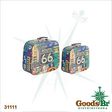 _MALETA CJ 2PC ROUTE 66 PLACAFULLWAY 33X29X13cm