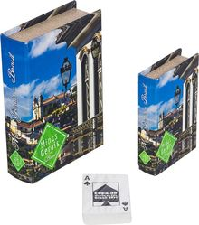 _BOOK BOX CJ 2PC+CARTAS OUROPRETO MG FULLWAY 20x14x4cm