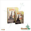 _BOOK BOX CJ 2PC EIFFEL HOTEL SEDA OLDWAY 33x22x7cm