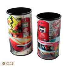 LIXEIRAS CJ 2PC CARS & GAS STATION FULLWAY26x44cm