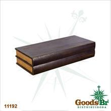 _BOOK SHELF PRATELEIRA COM GAVETA MDF OLDWAY 65x28x14cm