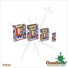 _BOOK BOX CJ 4PC ABC DESIGN FULLWAY 37x27x8cm